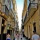 busy street cadiz photo