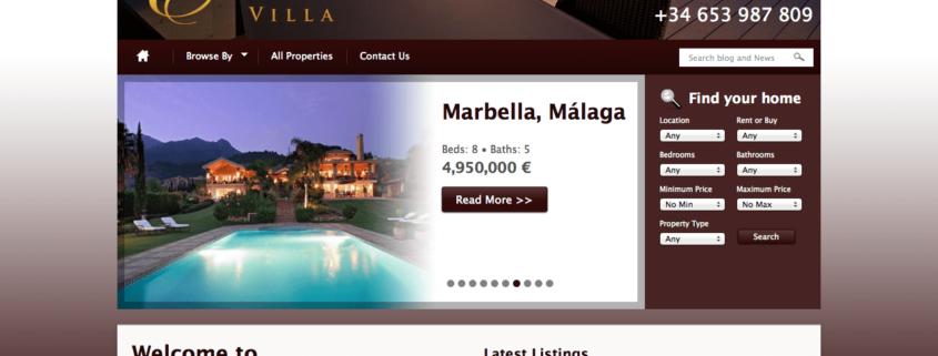 elegancevilla.com website