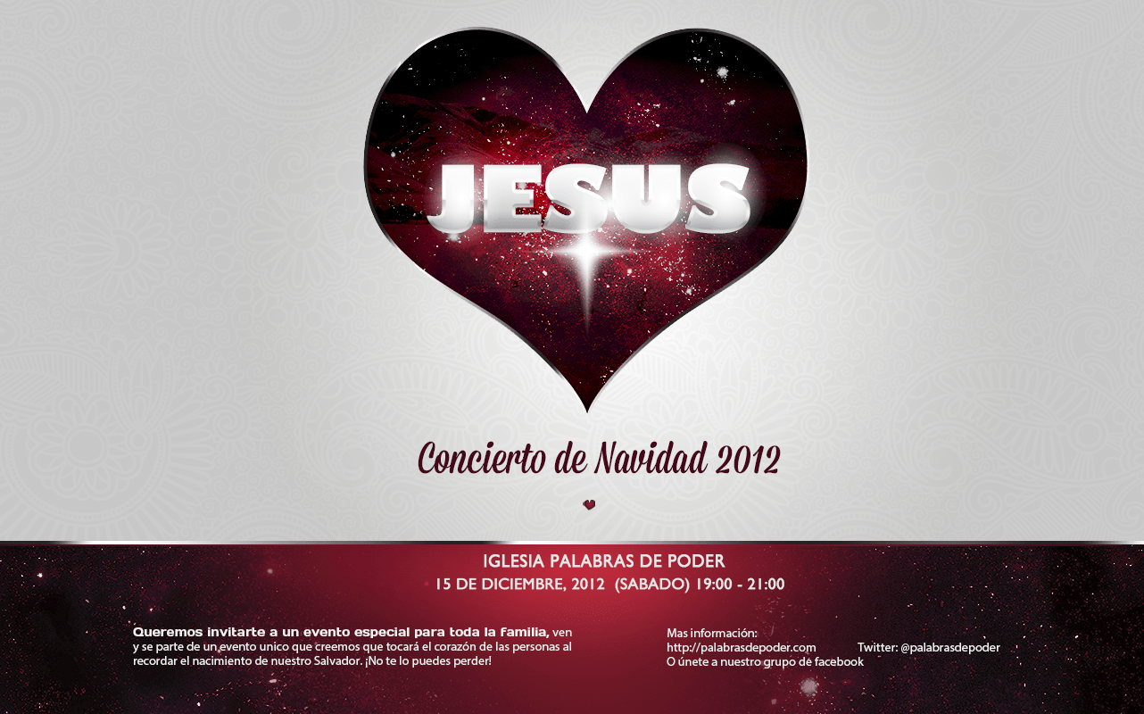 invitación evento de navidad