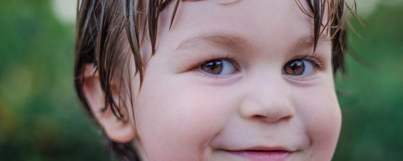 kid close up portrait photo