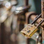 vintage rusty locks