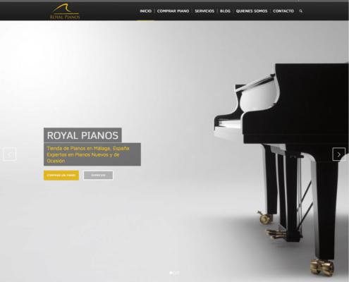 royal pianos tienda de pianos en Benalmadena