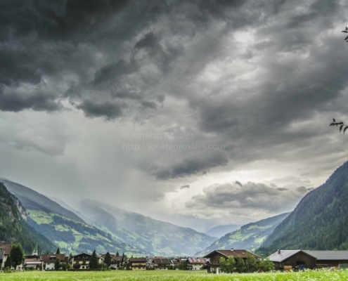 Storm in the Alps - Austria