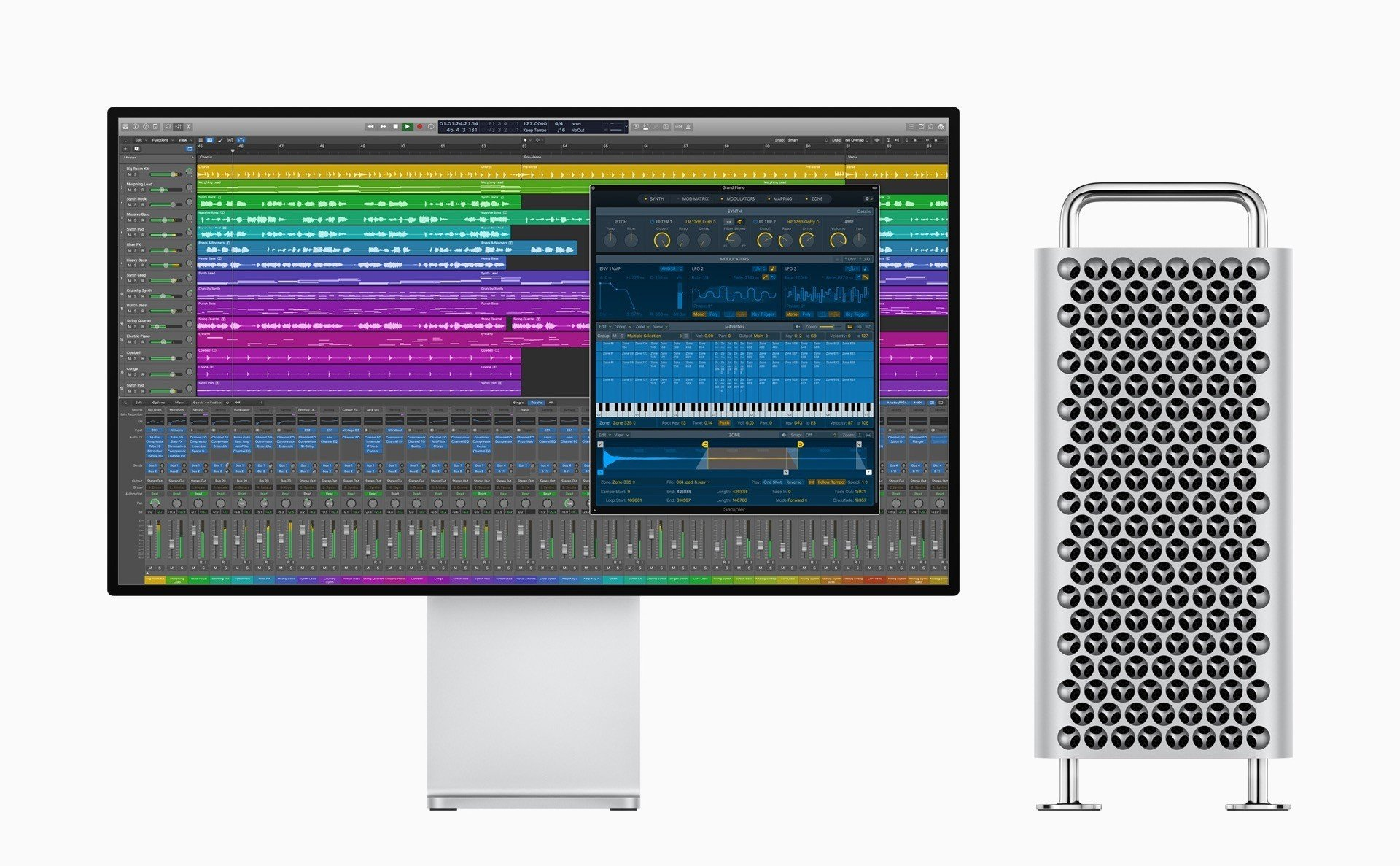 Logic pro X 10.5 Optimized performance